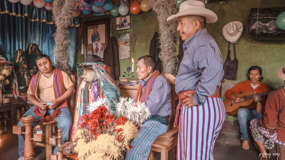 Maximon ceremony in Santiago Atitlan  - Learn Spanish in Guatemala